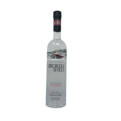 Broken Shed Vodka New Zealand