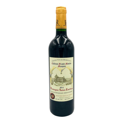 Chateau Grand Moulin Macquin 2015 Montagne Saint-Emilion