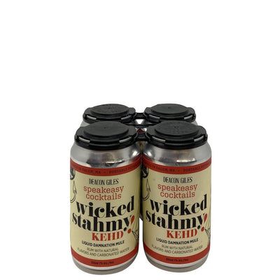 Deacon Giles Distillery Wicked Stahmy Kehd Liquid Domnation Mule Rum With Natural Flavors And Carbornated Water