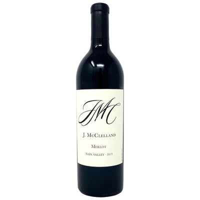 John McClelland Selection 2015 Merlot Napa Valley