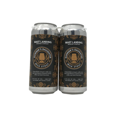 Mast Landing Brewing Company Gunners Daughter Milk Stout