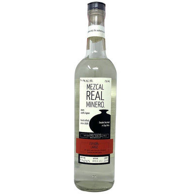 Mezcal Real Minero Espadin Largo Double Distilled In Clay Pots