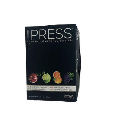 Press Seltzer Variety 12 Pack