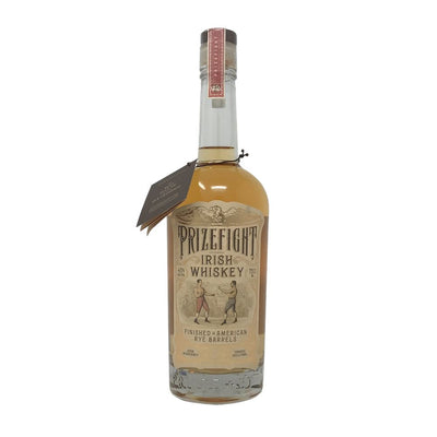 Prizefight Irish Whiskey Finished in American Rye Barrels