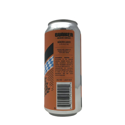 Single Bunker Brewing Bunktoberfest Marzen Lager single