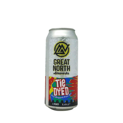Single Great North Aleworks Tie Dyed Dry Hopped Pale Ale single