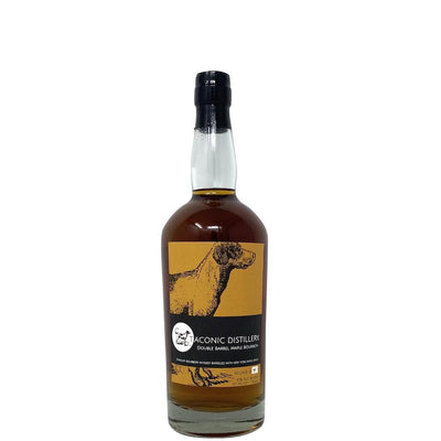 Taconic Distillery Founders Double Barrel Bourbon Whiskey with Maple Syrup