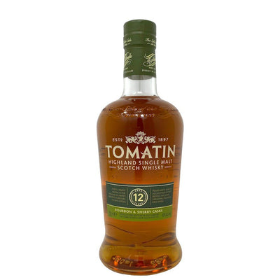 Tomatin 12 Year Single Malt Scotch Whiskey