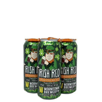 Wormtown Brewery Irish-Style Red Ale 4 pack