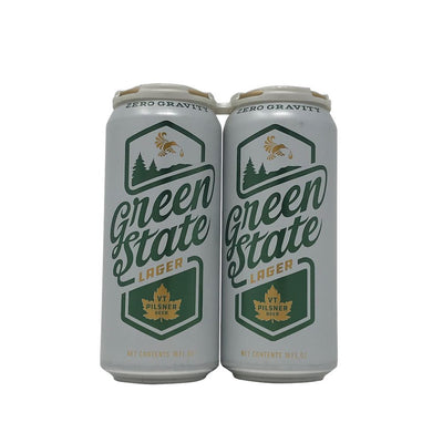 Zero Gravity Craft Brewery Green State Lager 4 Pack