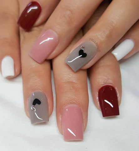 30 Sweet Winter Awesome Nail Design To Match With Your Outfits ...