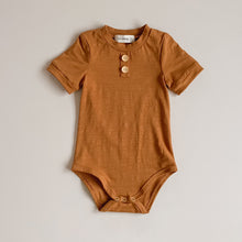Load image into Gallery viewer, Bronze Bamboo Basics Bodysuit