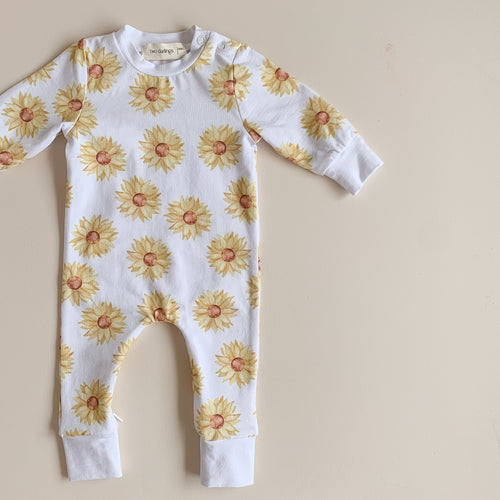 Sunflower All-in-One Romper