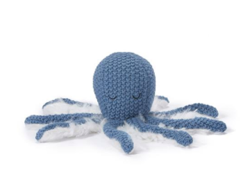 Ollie Octopus Rattle - Blue