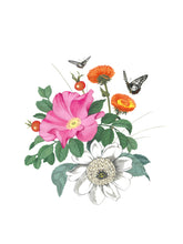Load image into Gallery viewer, Garden Motif Print #16