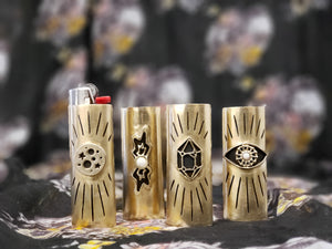 Artisan Brass Lighter Cases