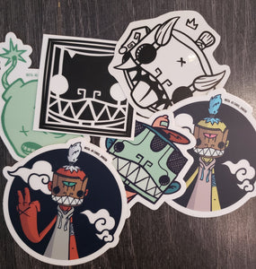 STICKER HEAD GRAB BAG