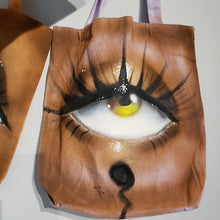Load image into Gallery viewer, Third Eye Custom Canvas Tote