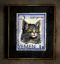 Load image into Gallery viewer, Cat Stamp, 1965