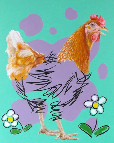Hen Drawing (3)