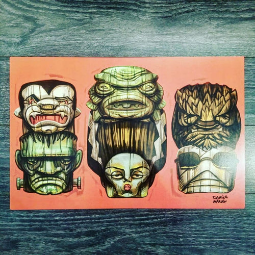 Tiki Horror Heads
