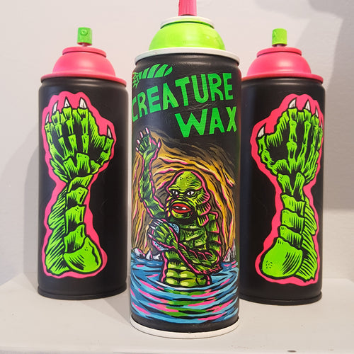 Hand Painted Cans