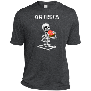 ARTISTA - Heather Dri-Fit Moisture-Wicking T-Shirt