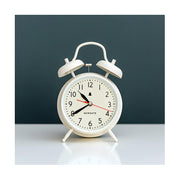 Classic Twin-Bell Alarm Clock - Large White - Newgate Covent Garden CGAM587LW (interior)