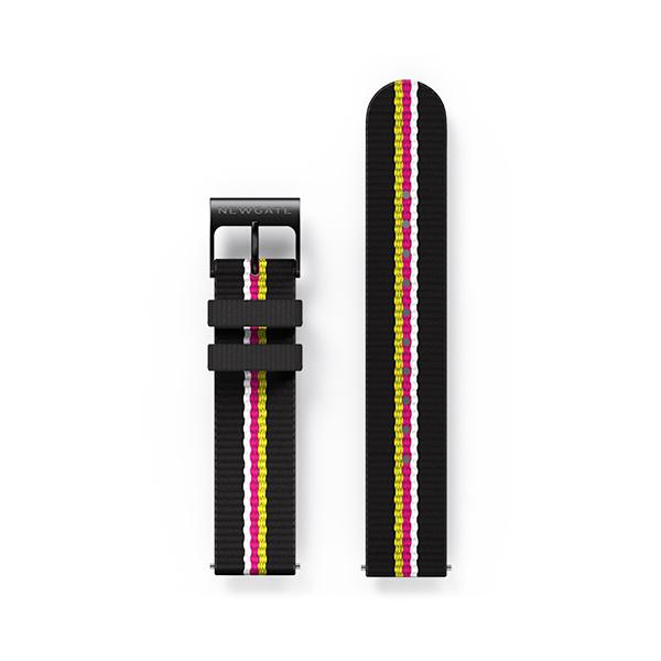 G6S Multicolour Striped Canvas Watch Strap - Belt