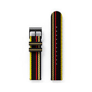 G6S Multicolour Striped Canvas Watch Strap - Windbreaker
