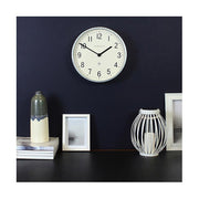 Galvanized Metal Wall Clock - Small - Newgate Master Edwards LUGG371GAL (home accessories) 1 copy