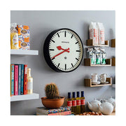 Large Black Station Clock - Marker Dial - Newgate Putney PUT390K (homeware) 1 copy