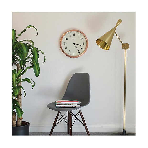 Large Copper Kitchen Clock - Newgate Spy SPY158RAC (homeware) 1 copy
