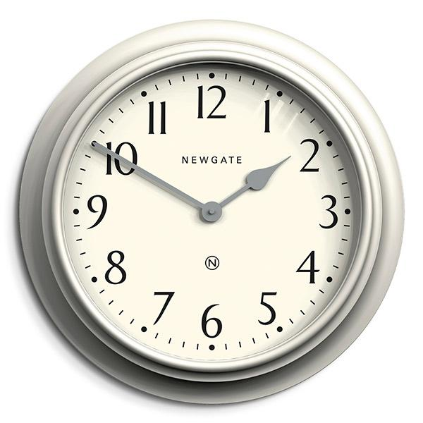 Large Decorative Light Grey Wall Clock - Newgate Westhampton WEST117LIGY