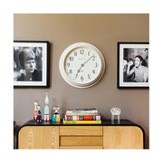 Large Decorative Light Grey Wall Clock - Newgate Westhampton WEST117LIGY (room decor) 1 copy