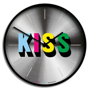 Limited Edition Wall Clock - Newgate Kiss NUMONEKISS