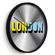 London Wall Clock - Limited Edition - Newgate London NUMONELONDON (skew)