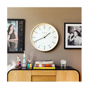 Modern Scandi Wall Clock - Extra-Large Minimalist Plywood - Newgate Mr Clarke MRC159PLY53 (home accessories) 1 copy
