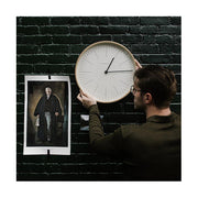 Modern Minimalist Wall Clock - Large Scandi Plywood - Newgate Mr Clarke MRC160PLY40 (interior) 1 copy