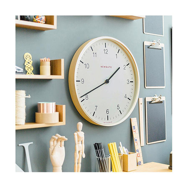 Modern Scandi Wall Clock - Extra-Large Minimalist Plywood - Newgate Mr Clarke MRC159PLY53 (homeware) 1 copy
