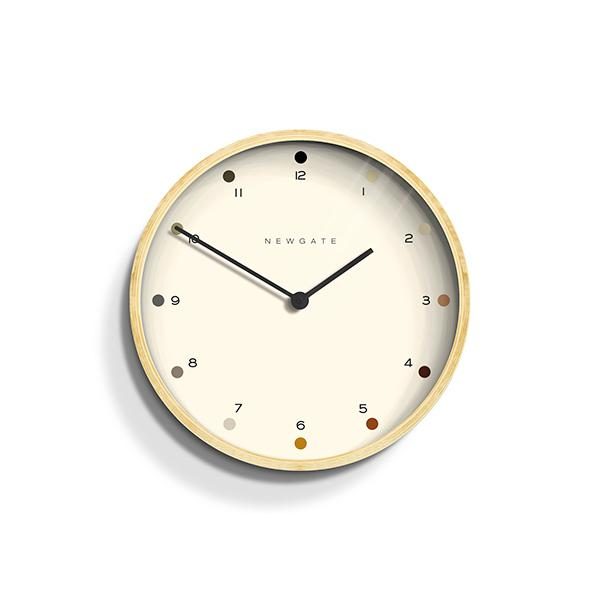 Small Modern Wall Clock - Minimalist Plywood - Newgate Mr Clarke MRC161PLY28