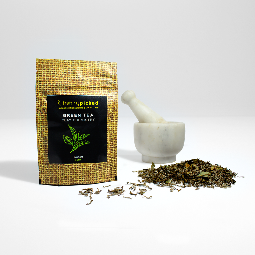 Skin-Radiant Green Tea Clay Face Mask (50gm)
