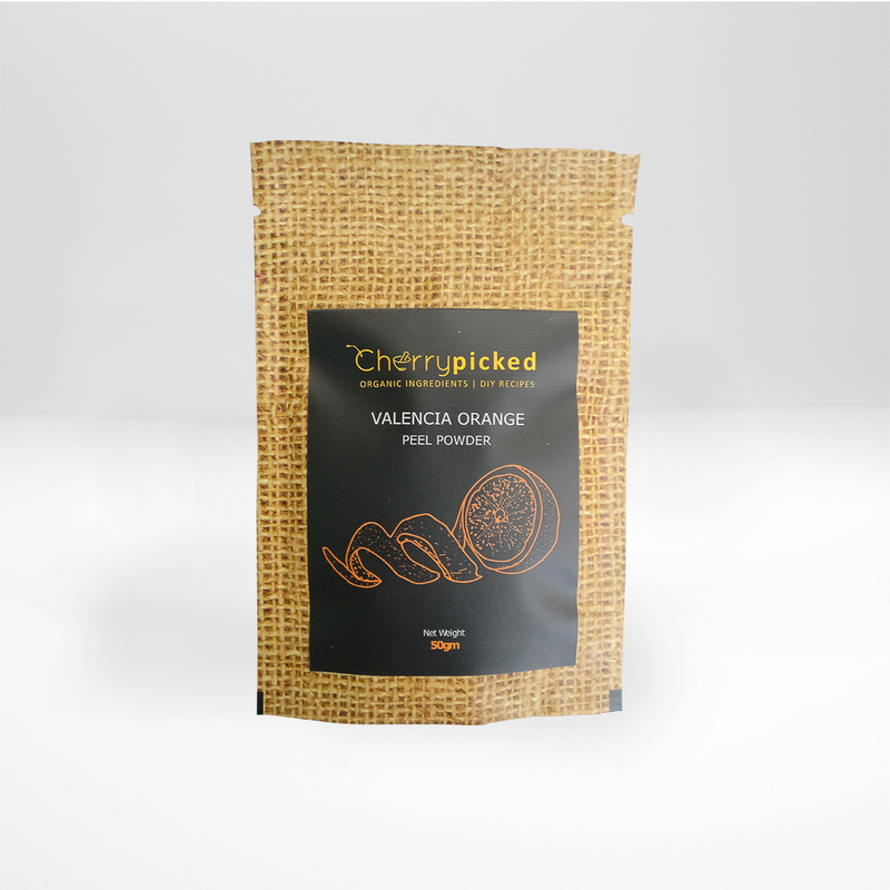 Valencia Orange peel powder (50gm)