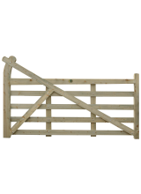 Gooseneck Timber Gate (Availbale to order)