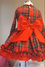 Load image into Gallery viewer, Red Tartan Classic dress