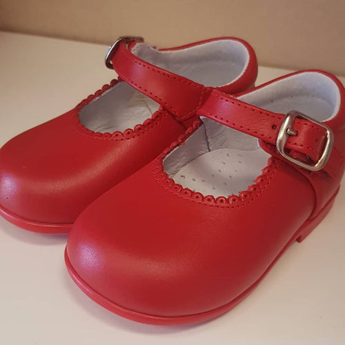 Baby Shoes in Red