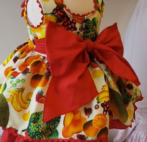 Tutti Fruitti Dress Set