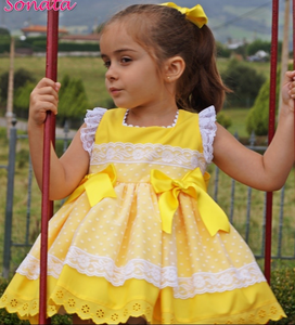 Sonata Yellow Dress