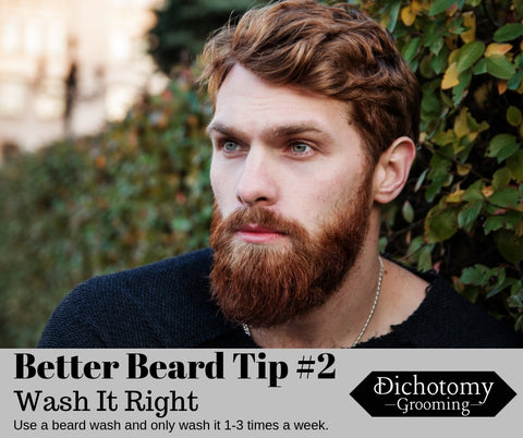 Dichotomy Grooming Beard Tip #2 - Wash It Right