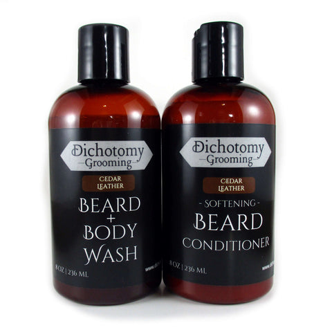 Beard Wash and Conditioner Combo